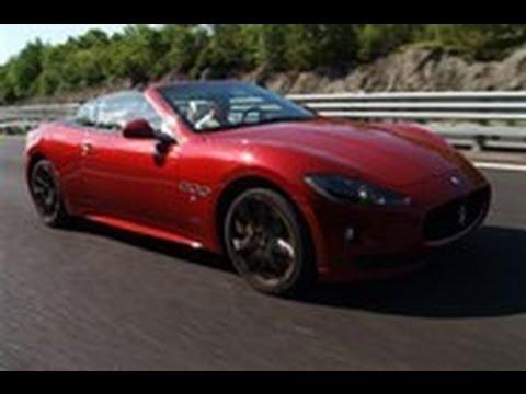 [Autocar] Maserati GranCabrio Sport video review