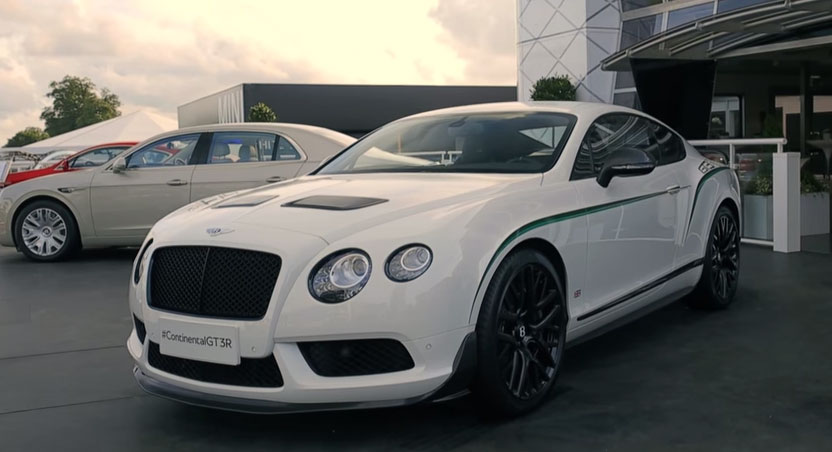 The Bentley Continental GT3-R at Goodwood Festival of Speed 2014