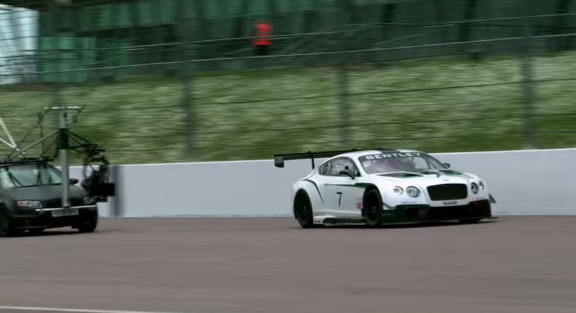 Behind the scenes of Inspired - the Continental GT3-R film
