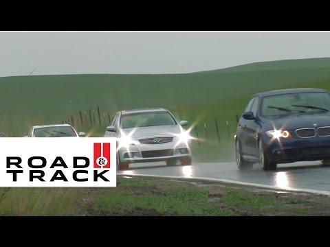 [RoadandTrack] Acura TL vs Audi S4 vs BMW 335i vs Infiniti G37S Comparison Test