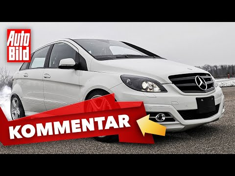 [AUTO BILD] Mercedes B 55 AMG (2010): Motor - V8 - Leistung - Minivan - Info
