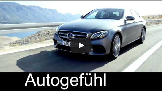 [Autogefühl] 2017 All-new E-Class Exterior Interior Remote Parking Pilot