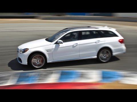 [MotorTrend] 2014 Mercedes-Benz E63 S AMG Wagon Hot Lap!