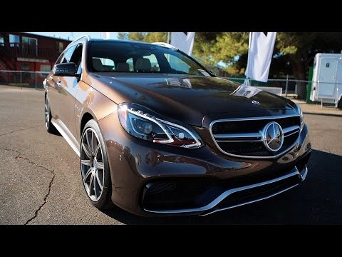 [MotorTrend] The One With The 2014 Mercedes-Benz E63 AMG Wagon!
