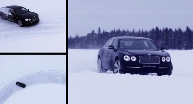 Test Drive the new Bentley Flying Spur