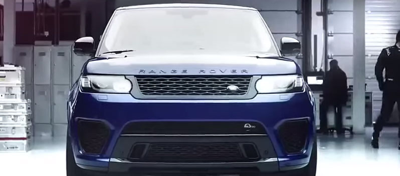 RANGE ROVER SPORT SVR_LAUNCH FILM