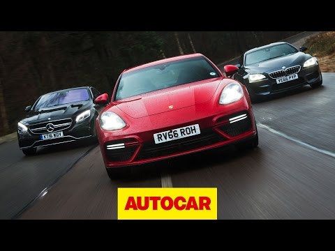 [Autocar] Porsche Panamera Turbo v BMW M6 v Mercedes-AMG S 63: Ultimate luxury sports cars tested
