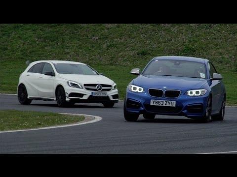 [Autocar] Mercedes A45 AMG vs. BMW M235i