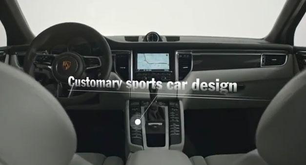 The new Porsche Macan - Interior Design