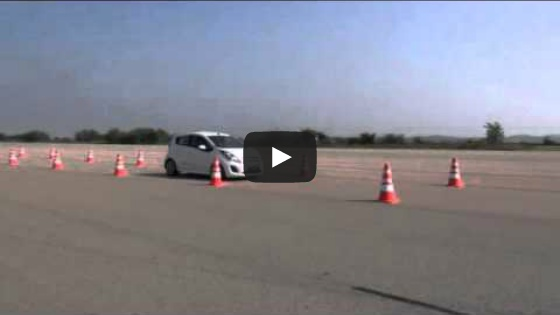 [KNCAP] 2014 SPARK EV Braking Performance Test