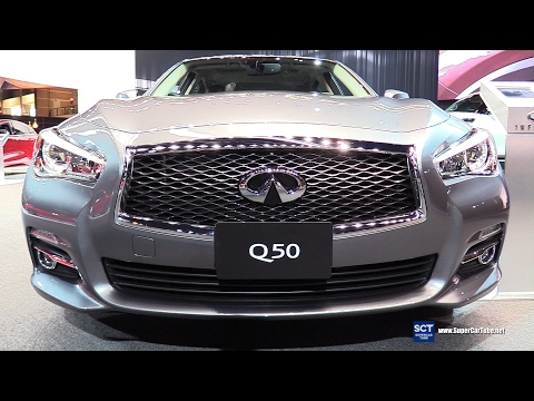 [SCT] 2017 Q50 Signature Edition - Exterior, Interior Walkaround - 2017 Chicago Auto Show