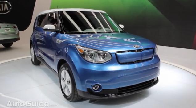[AutoGuide] 2015 Soul EV - 2014 Chicago Auto Show