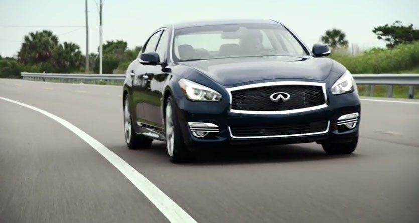 Infiniti Q70L – Lane Departure Prevention: A Glimpse