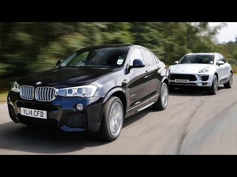 [Autocar] BMW X4 vs Porsche Macan: sports SUV showdown