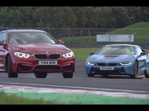 [Autocar] BMW i8 versus M4 - track battle
