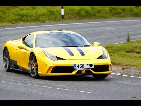 [Autocar] 597bhp Ferrari 458 Speciale driven to the limit on track