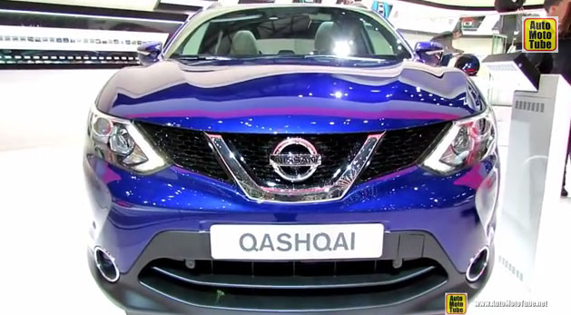 2015 Nissan Qashqai Diesel - Exterior and Interior Walkaround - Debut at 2014 Geneva Motor Show