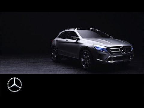 Mercedes-Benz Concept GLA: Raus aus dem Alltag