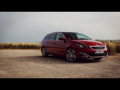 Peugeot 308SW Test drive