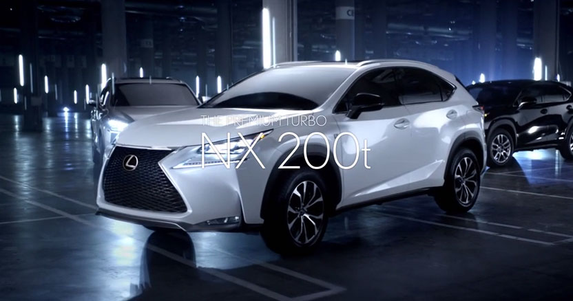 LEXUS NX 200t LAUNCHING