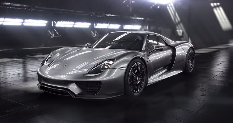 The new Porsche 918 Spyder.