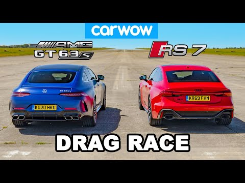 [carwow] Audi RS7 vs AMG GT 63S 4-Door: DRAG RACE