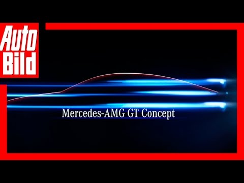 [AUTO BILD] Teaser Mercedes AMG GT Concept