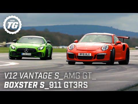 [Top Gear] Chris Harris Drives... Sportscars: V12 Vantage S, AMG GT R, Porsche 911 GT3RS
