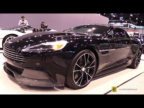 [AutoMotoTube] 2017 Vanquish Volante - Exterior and Interior Walkaround - 2017 Chicago Auto Show