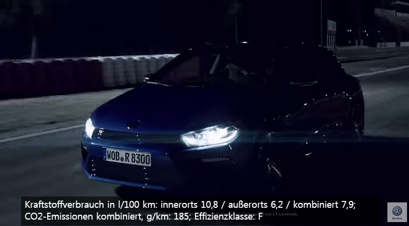 Volkswagen Scirocco R on the race track [ENG]
