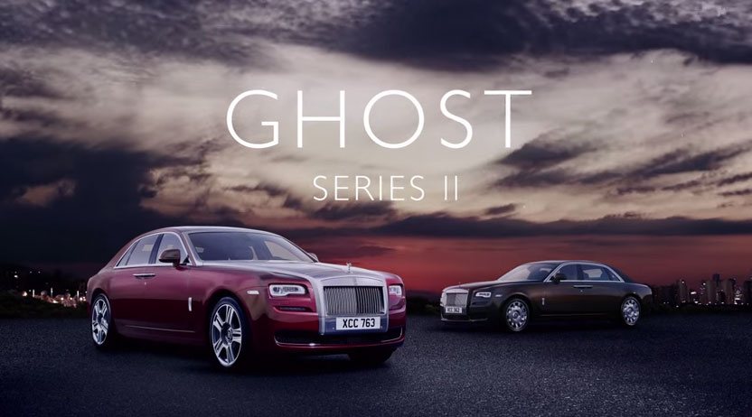 Rolls-Royce Ghost Series II. No Ordinary Power