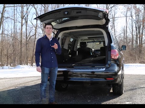 [Vehicle Virgins] 2015 QX80 Review