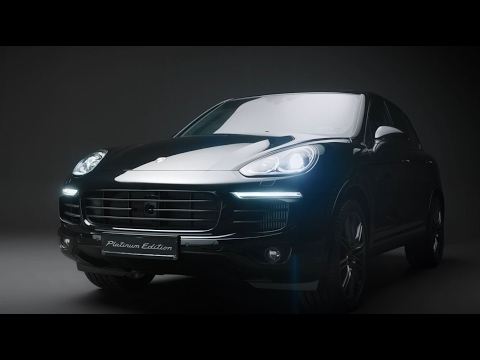 [오피셜] The new Cayenne S Platinum Edition - Walk Around
