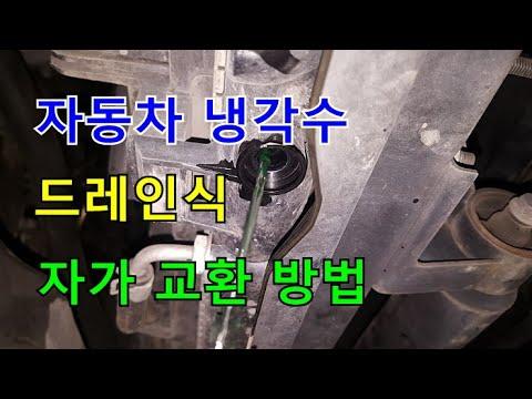 [귀여운친구] 냉각수 자가 교환 방법 @SM5임프레션