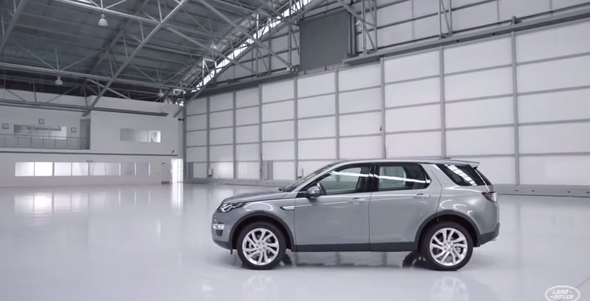 New Discovery Sport - Design Overview