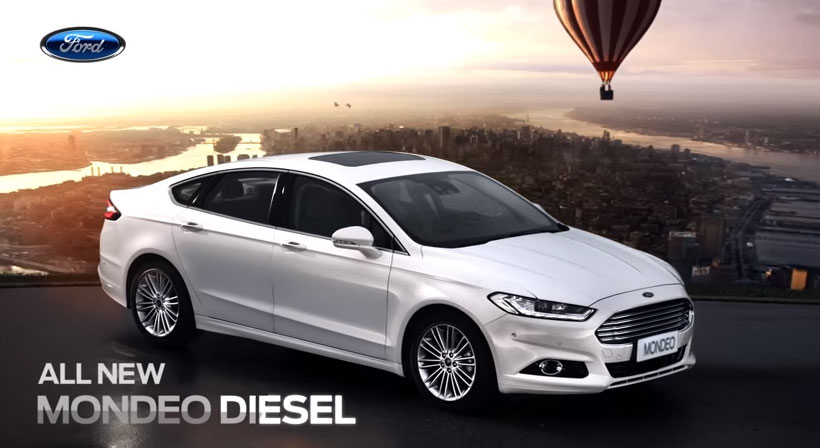 ALL NEW MONDEO DIESEL- Launch TVC (Official)