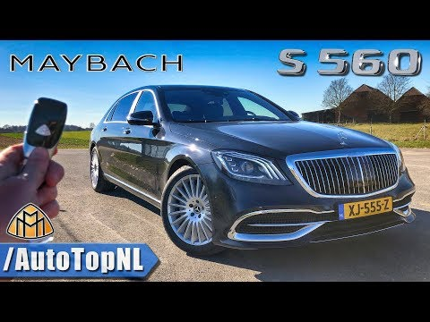 [AutoTopNL] 2019 Maybach S560 REVIEW POV Test Drive on AUTOBAHN & ROAD
