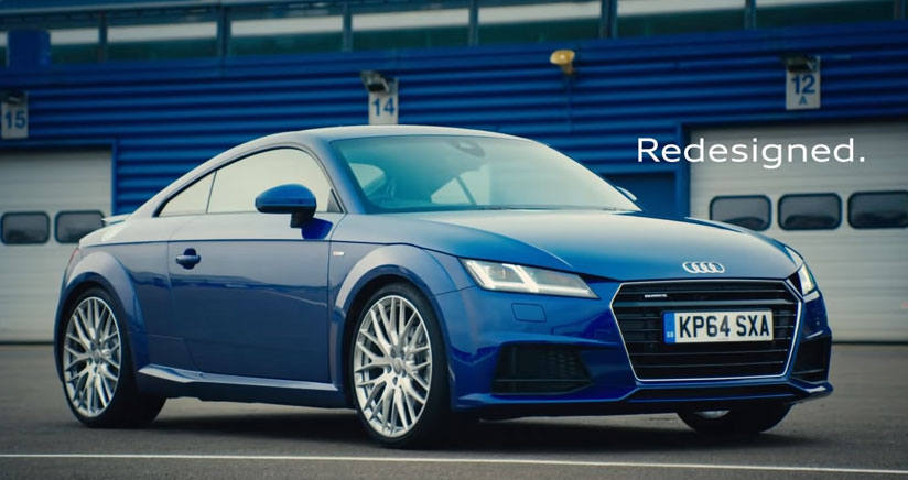 The all new Audi TT - Redesigned