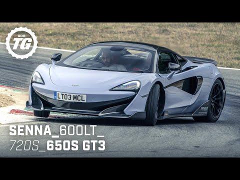 [Top Gear] Chris Harris Drives... the Best of McLaren: Senna, 600LT, 720S, 650S GT3