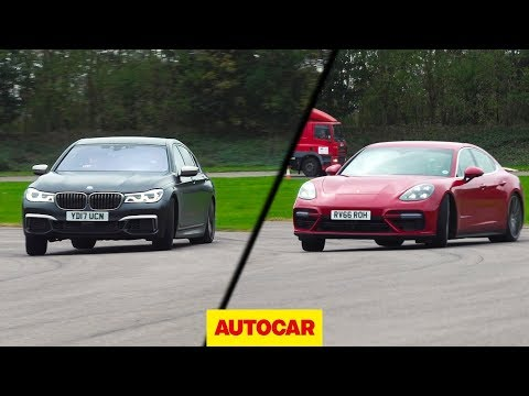 [Autocar] BMW M760Li vs Porsche Panamera Turbo | Drag race, drifted, driven on road