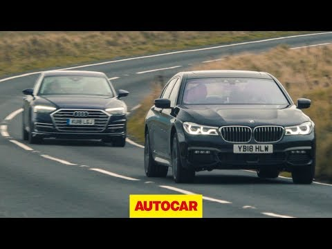 [Autocar] Audi A8 vs BMW 7 Series | What\