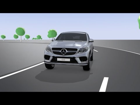[Mercedes-Benz] GLE Coupe: ACTIVE CURVE SYSTEM - Mercedes-Benz original