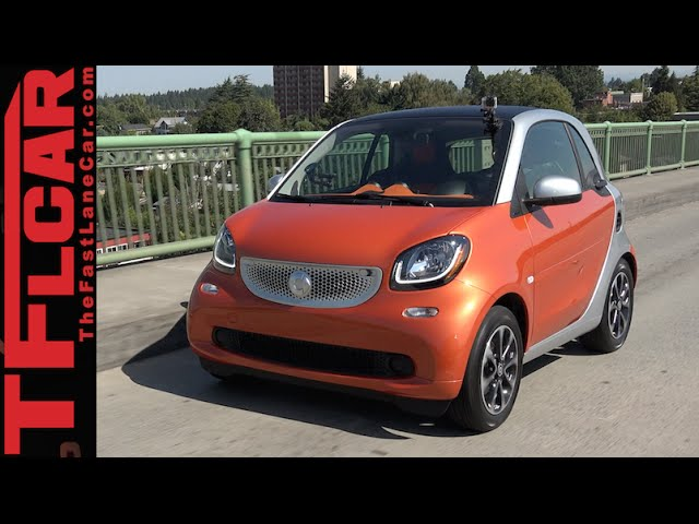[The Fast Lane Car] All New 2016 Smart Fortwo