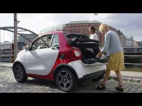 [Canale25] Smart Fortwo Cabrio - Red Color : Video on the Road