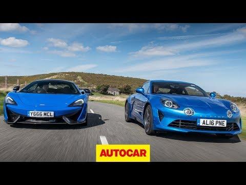 [Autocar] McLaren 570S vs Alpine A110 - Which is the ultimate car?
