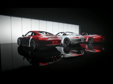 [오피셜] The new Porsche 911 GTS models. Features.