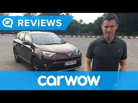 [carwow] RAV4 2017 SUV review | Mat Watson Reviews