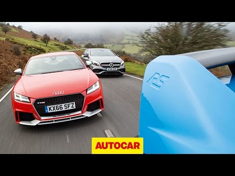 [Autocar] Audi TT RS v Mercedes-AMG A45 v Ford Focus RS | Ultimate all-weather Audi TT RS review