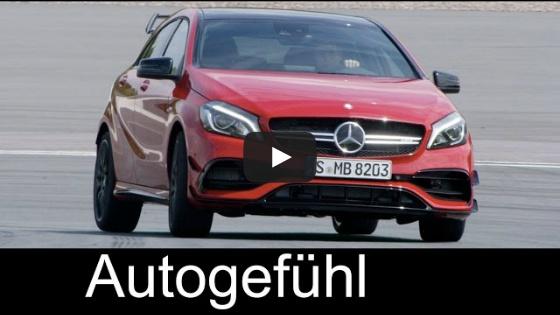 [Autogefühl] AMG A45 & A-Class A250 Motorsport