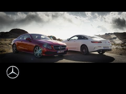 [오피셜] The new E-Class Coupé – Trailer